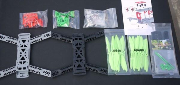 chasis fpv kingkong 260 carreras comprar drone barato